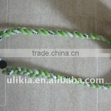 2012 Hot selling baseball titanium rope necklace
