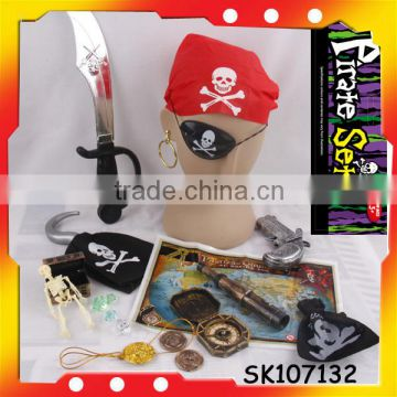 plastic pirate gold coins pirate map with high quality