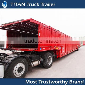 Car Hauler Trailer Enclosed Box Van Vehicle transport trailer, Strong Box Utility Car Trailer