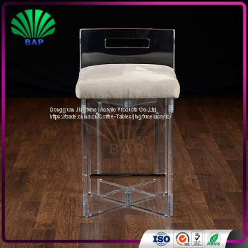 Pleasant Hot Selling Clear Legs High End Bar Stool Plexiglass Bedroom Andrewgaddart Wooden Chair Designs For Living Room Andrewgaddartcom