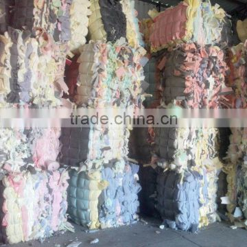 Packing PU Foam Sponge Scrap In Bales