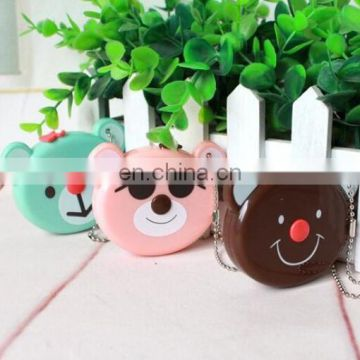 Bear Cartoon Body Measuring Tape Locking Pin and Push-Button Retraction
