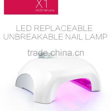 36W printing UV lamp Cheap nail salon beauty nail art dryer 818  professional 36 watt uv nail lamp for uv gel/led gel/builder