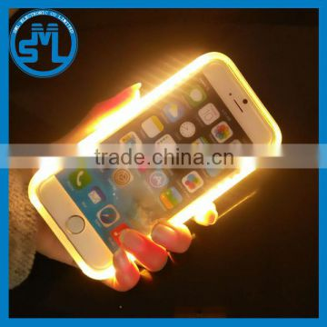sports shoes b57d2 7bc1e 2016 New product power bank PC Illuminated selfie LED light lumee Phone  Case for iphone 5 5s 5se 6 6s 6 plus 6s plus