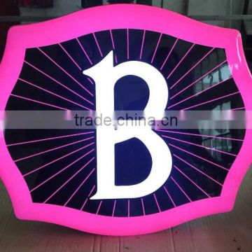 Letter Light Box for advertising