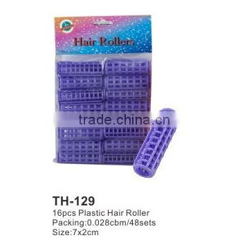 16pcs Plastic Foam Hair Roller TH129