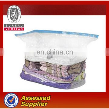 Fashion Designed Transparent Vacuum Clothing Compressed Storage Bag