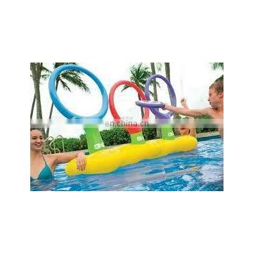 Inflatable Frisbee Pool Target