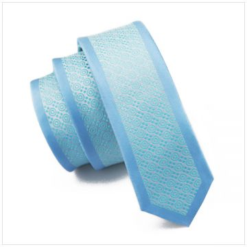 Extra Long Customized Polyester Woven Necktie Handmade Adult