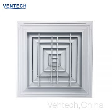 aluminum square supply ceiling vent hvac ventilation