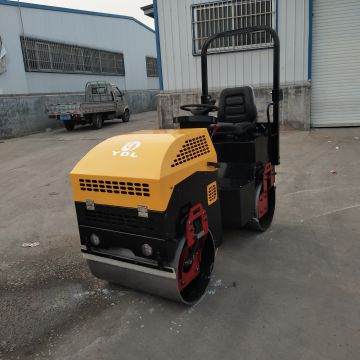 Round Steel Wheel Soil Compactor Compactor Machine