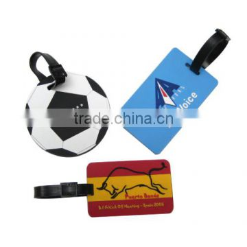 Different shape luggage tag for promotion