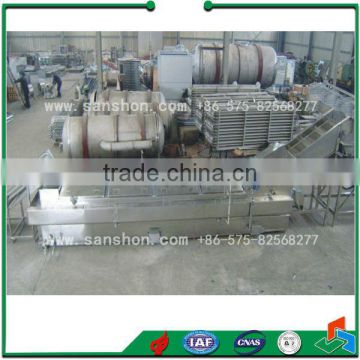 Food cooking Machine Fruits and Vegetable Blancher Sterilizing Machine