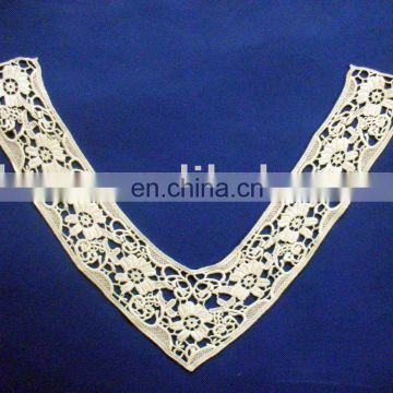 Hot selling Neck water soluble embroidery design