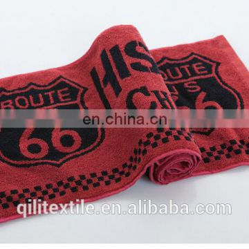 High quality Gym Design Customized 100% Cotton sport towel