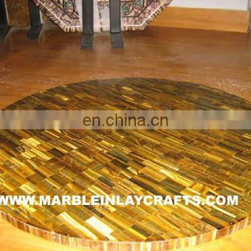 Golden Tiger Eye Coffee Table Tops