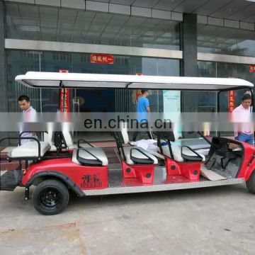 Annual top seller Electric 12 seater car for sale | Sightseeing car | for Southeastern Asia market