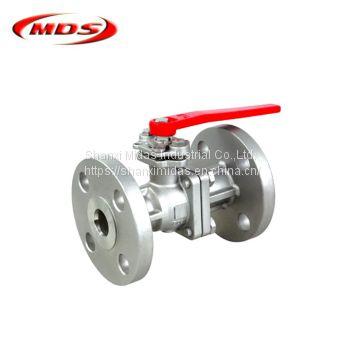 high pressure carbon steel 1 inch one piece flanged end ball valve ansi