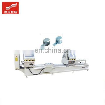 Two-head miter cutting saw for sale aluminum beam door and window machine bead Best price of China manufacturer