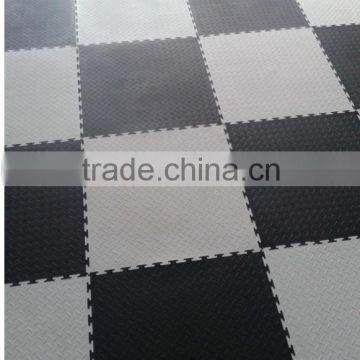 Plastic PVC Interlocking basketbal court flooring park
