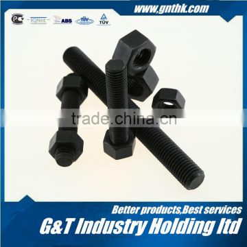 Astm A193 B7 Black Full Thread Rod Stud Bolt Screw Thread Steel Bar