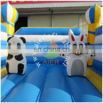 Amusement cheap cartoon inflatable bounce house Lion cartoon style Popular Inflatable bouncer 9 In 1 jumper caslte bounce house