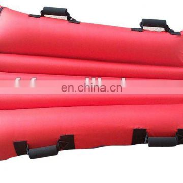 PVC Inflatable snow tube for kids