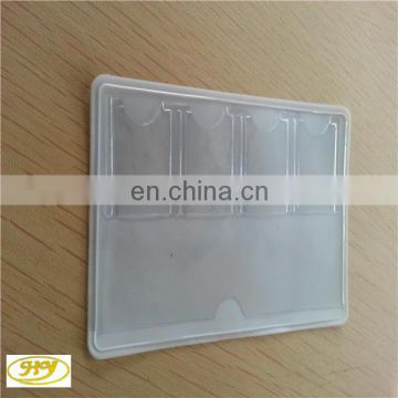 Hot sale clear plastic PVC credit card holder passport and ticket holder