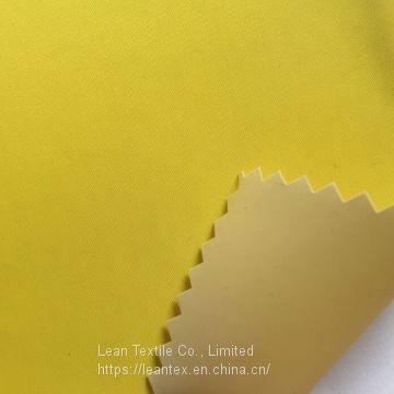 Nylon 210T Taffeta Fabric 180 gsm Waterproof Pvc Coating