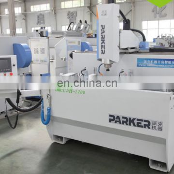 Aluminum window and curtain wall cnc milling drilling machine center
