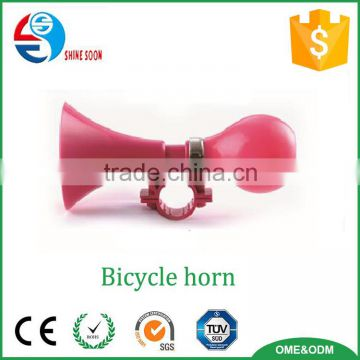 2016 Factory Price toys plastic toy kids bicycle air horn