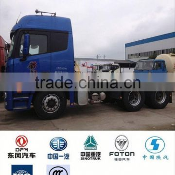 China foton truck semi tractor 6*4, used 6x4 tractor truck head