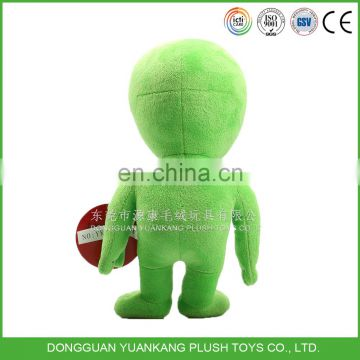 Dongguan OEM Design Plush Aliens Stuffed Doll Alien Toy
