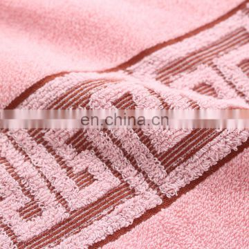 Wholesale custom jacquard 100% cotton face towel
