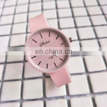 Wholesale leather watch wrist watch cheapest ladies watch