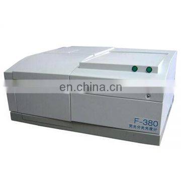F-380 fluorescent spectrophotometer molecular fluorescence for Food safety materials environmental testing