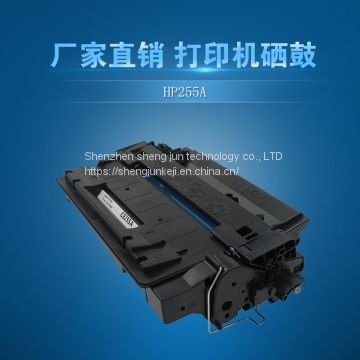 Direct selling of 255 toner cartridge 55A toner cartridge for Hp3015 printer