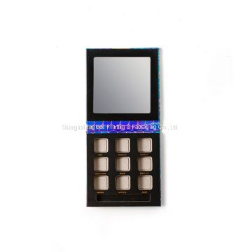 Custom Logo Printed Luxury Eyeshadow Packaging Eye shadow Box Tray