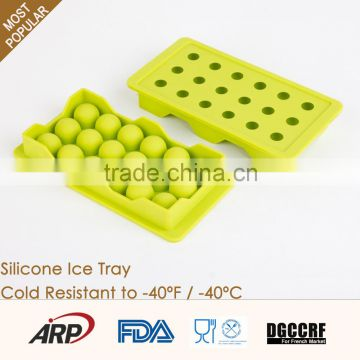 Wholesale new premium personalized ice cream maker silicone ice cube tray                                                                                                         Supplier's Choice