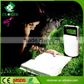 USB socket output solar rechargeable camping lantern solar lantern with mobile phone charger