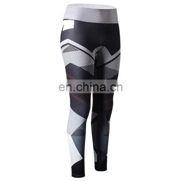 Tight printed stretch fitness women's running exercise training yoga sport leggings
