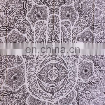 Wall Hanging Mandala hAnd design Tapestries Hippie art Tapestry Beach Throw Blanket Hippie peacock Wall picnic Queen Wholesale
