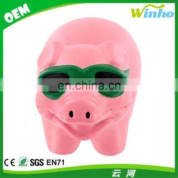 Winho Cool Pig With Sunglasses Stress Ball