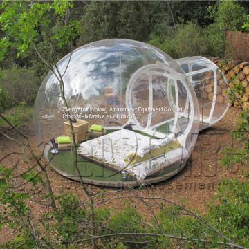Clear giant inflatable dome bubble tent transparent bubble tent for sale