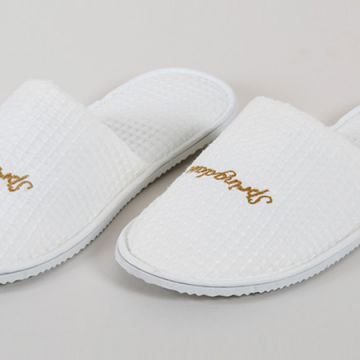 Eliya superior quality hotel eco-friendly waffle hotel bathroom slippers