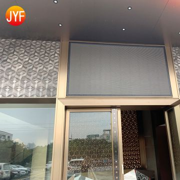 JYFI0094 Cheap custom water proof stainless steel decorative outdoor wall panels used for building
