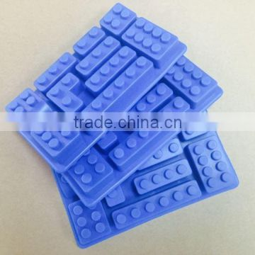 Creative Ice Tray Fruit juice Drink Ice Mold Moudle Block Brick Multicolor Rectangle Shape Cake Chocolate DIY