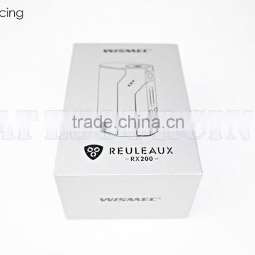 New Product WISMeC Reuleaux RX 200W Kit 18650 Temp control mod