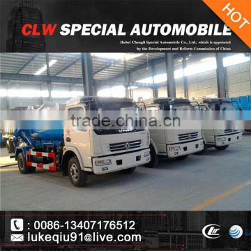 4-5 cbm dongfeng sewage suction truck for sale