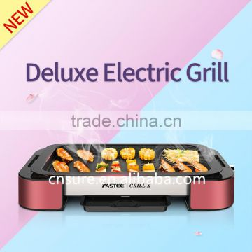 Deluxe Electric Grill Household Grill Korean Barbecue Grill